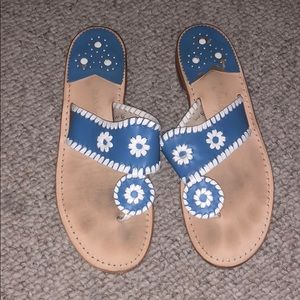 Carolina Blue & White Jack Rogers Spirit Sandal
